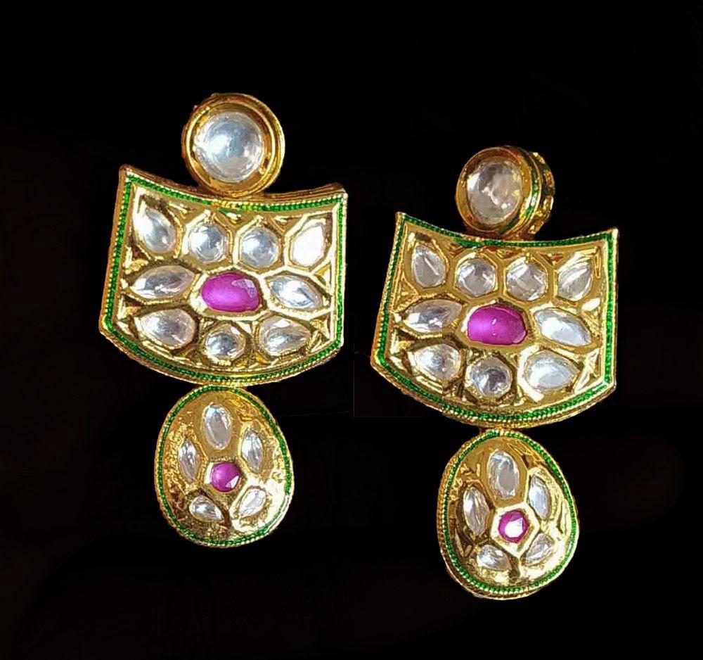 Kundan Heritage Earrings