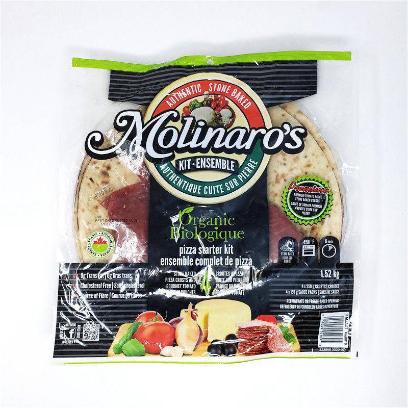 Molinaros Pizza Starter Kit 4Pk